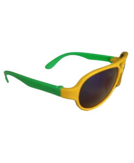 Glucksman Classic Sports Sunglasses - Yellow