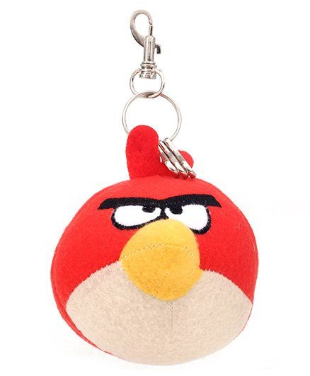 Angry Birds Plush Key Chain Red - 22 Cm