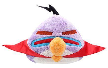 Angry Birds Lazer Bird Plush Toy Purple - 25 cm