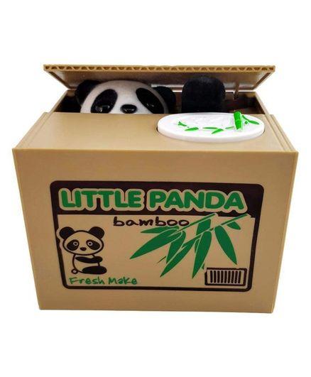 Webby Funny Little Panda Money Bank -Multicolour