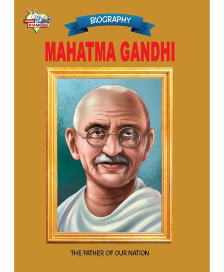 Jr Diamond Mahatma Gandhi Biography By Renu Saran - English