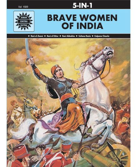 Amar Chitra Katha Brave Women Of India Collection - English