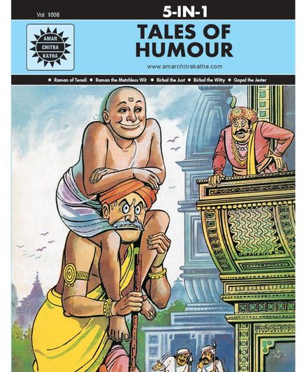 Amar Chitra Katha 5 in 1 Tales of Humour by Anant Pai - English