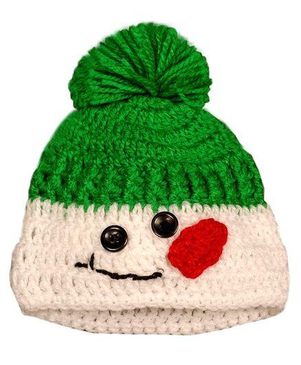 Knits & Knots Snowman Cap - Green