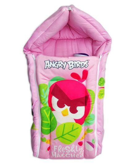 Angry Birds Sleeping Bag - Pink