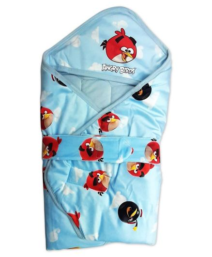 Angry Birds Hooded Wrapper - Blue