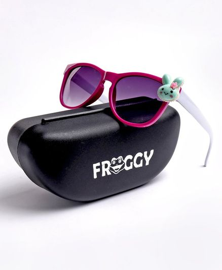 FROGGY Bunny Detailing Sunglasses - Pink