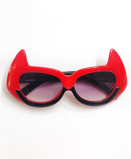 Kid-O-World Superhero Sunglasses - Red & Black