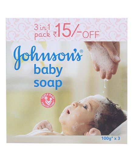 Johnson's baby Soap 3 in 1 Pack - 300 gm