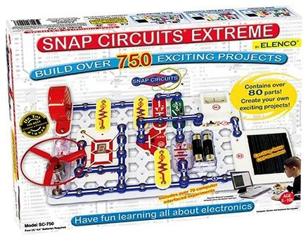 Snap Circuits Extreme SC750 Experiments Electric Circuit Online ...