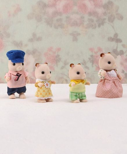 Sylvanian Families Hamster Family - Pink