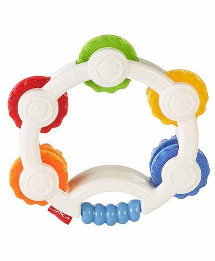 Fisher Price Shake n Beats Tambourine - Multicolour