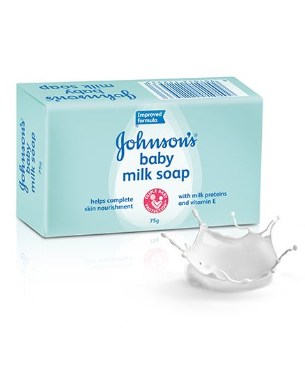 Johnsons Milk Baby Soap, 75 gm