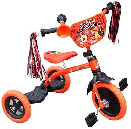 Angry Birds Tricycle With Shiny Frills Orange - EI - AB0065