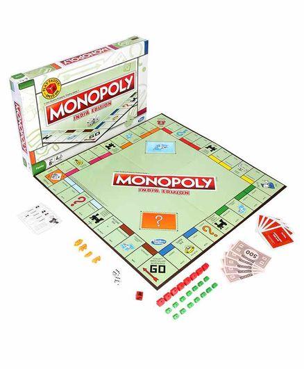 Funskool Monopoly India Edition - Multi Color
