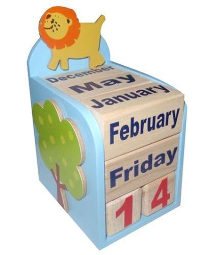Kidoz Animal Motif Calendar
