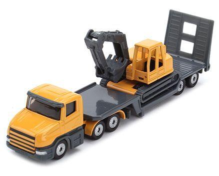 Siku Funskool Low Load and Excavator- Yellow