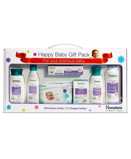Himalaya Baby Care Gift Pack of 7 With Window Packaging