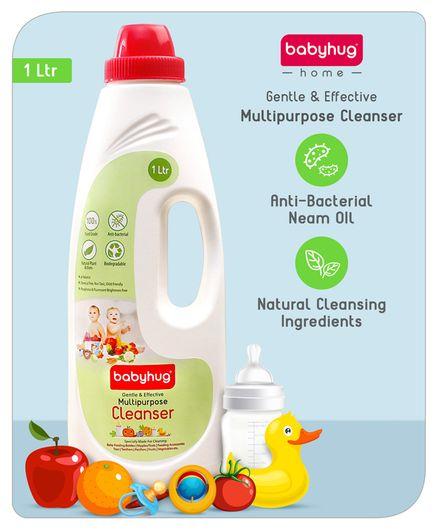 Babyhug Feeding Bottle Accessories & Vegetables Liquid Cleanser - 1000 ml