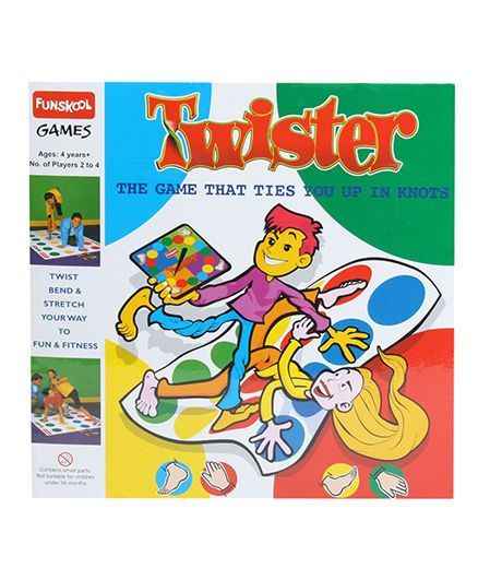 Funskool Twister The Game That Ties You Up In Knot