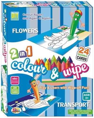 Ekta Color And Wipe Kit