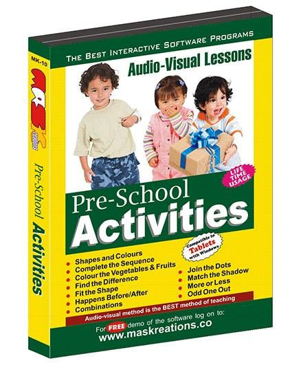 MAS Kreations Pre School Activities - English