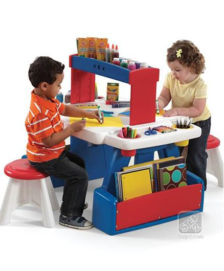 Step2 Creative Projects Table - Multicolor