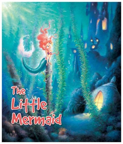 Macaw The Little Mermaid Book - English