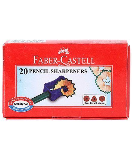 Faber Castell Pencils Sharpener - Set of 20
