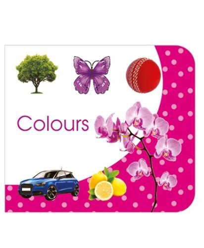 Art Factory Colours Board Book - English