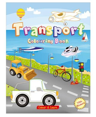 ART Factory Transport Coloring Book