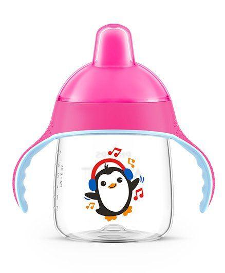 Avent Premium Spout Cup 260 ml - Pink