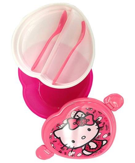 e2ba250a5ed Hello Kitty Lunch Box Pink Online in India, Buy at Best Price from ...