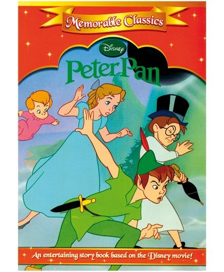 disney peter pan story book english online in india buy at best