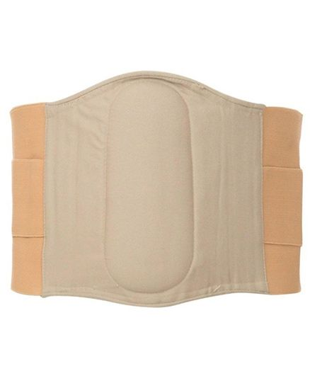 Aaram Postpartum Lumbo Sacral Belt Extra Large - White And Nude