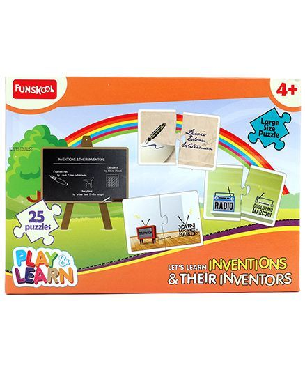 Funskool Inventions And Their Inventors Puzzle