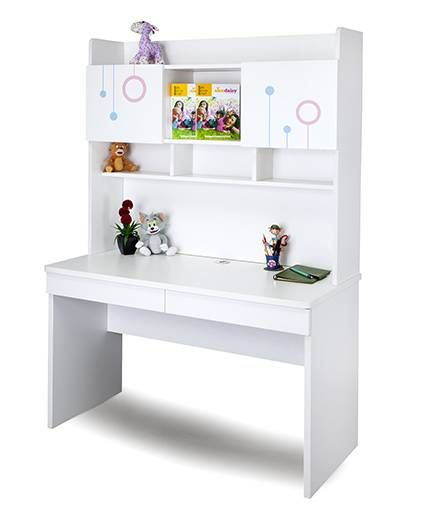 Alex Daisy Wooden Study Table Prism White Online In India Buy At