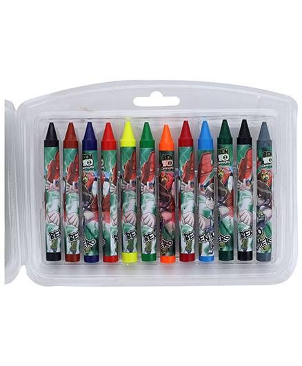 Ben 10 Jumbo Crayons -12Colours
