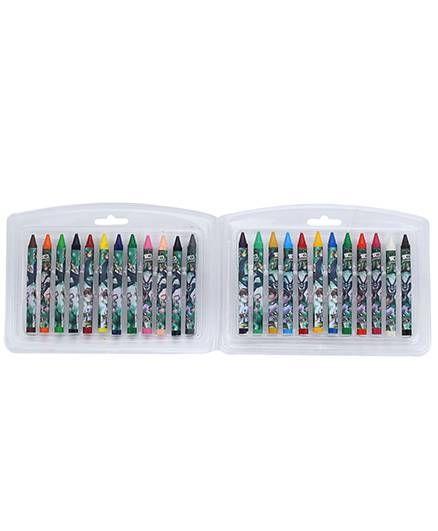 Ben 10 Triangular Crayons - 24 Shades