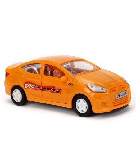Speedage Hyundai Fluid Verna PB Car Plastic - Orange