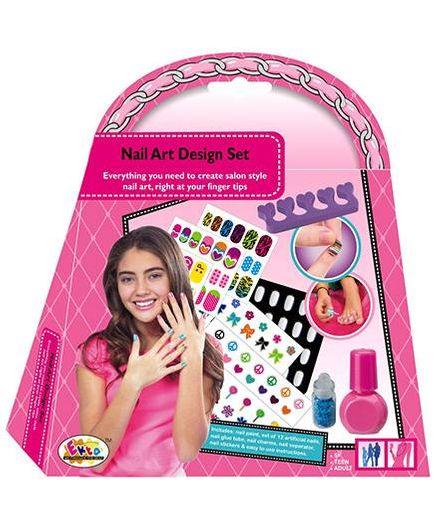 Ekta Nail Art Design Set For Girls 5 13 Years Online In India Buy
