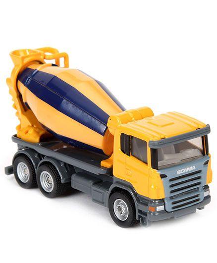 Siku Funskool Cement Mixer - Yellow