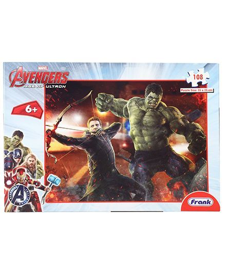 Marvel Avengers Puzzles - 108 Pieces