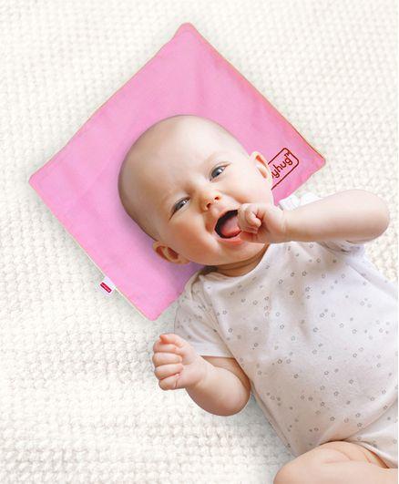 Babyhug Rai Seed Filling Rectangle Pillow Pink