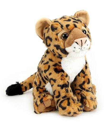 Wild Republic CK Baby Leopard Soft Toy Brown 30 cm Online India, Buy ...