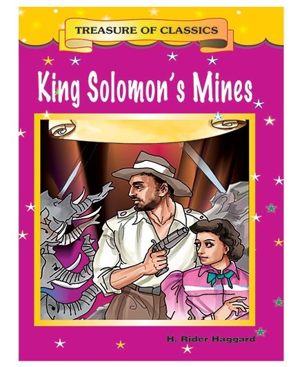 King Solomon's Mines Story Book - English
