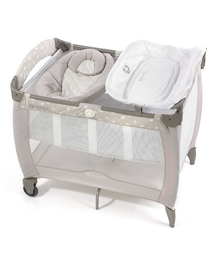 Graco Pack 'n Play Contour Electra Bassinet with Napper - Bear And Friends