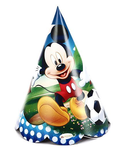 Disney Mickey Mouse And Friends Paper Cap Pack Of 10 - Multi Color