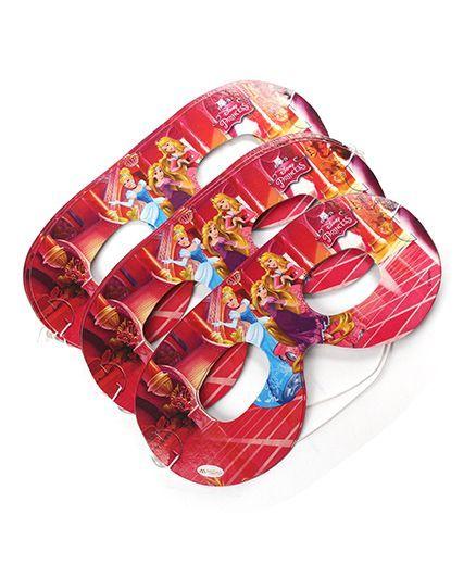 Disney Princess 2 Eye Masks Pack Of 10 - Red