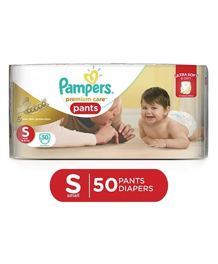 Pampers Premium Care Pant Style Diapers Small - 50 Pieces